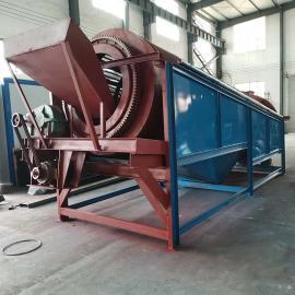 SGT-1225国邦建筑工地沙场专用滚筒筛沙机 高效砂石分离设备 无轴圆筒筛分机