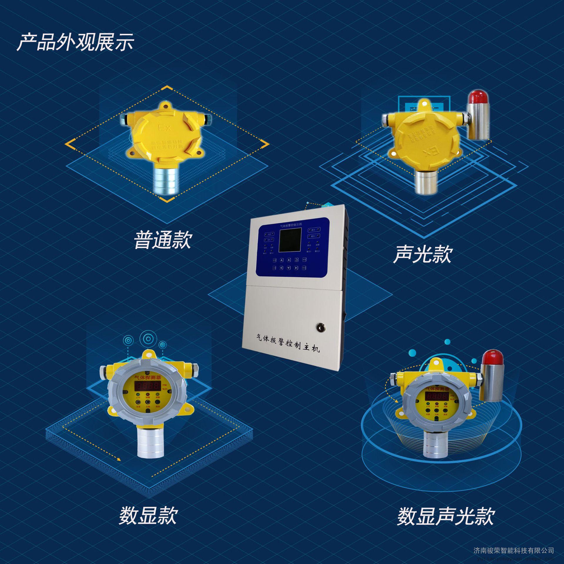 可燃气体报警器 乙炔报警器 可燃气体探测器检测仪 骏荣智能JR-S300