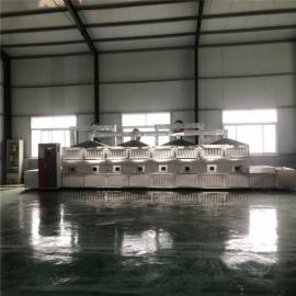立威隧道式红豆烘焙机 五谷杂粮微波低温烘焙设备20kw
