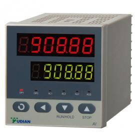 YUDIAN宇电五位数显 ke带30duancheng序duan智neng温控器 高精度温PID仪表 AI-756Pcheng序仪表