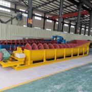 国邦YS800河道zhuan用螺xuan洗砂机 矿用洗沙机 gaoxiao双螺xuan河砂清洗机