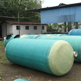 绿明辉新农村75立方玻璃钢化粪池厂家供应