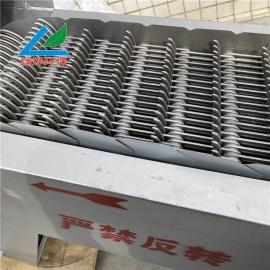 lv烨格栅机除wu机 回转shi机械格栅机 运行平稳 噪音低