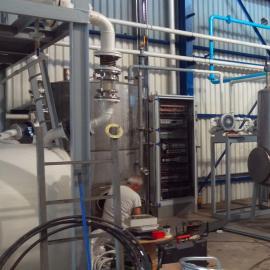 重庆阳江全套黑油润滑油脱色再生机械设备