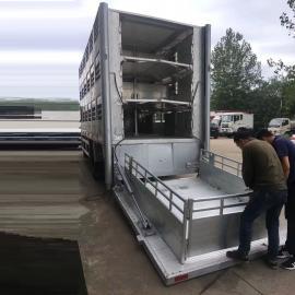 恒温拉猪车生产铝合金材质箱体功能齐全CLW