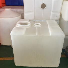 华社双口耐酸碱化工桶IBC集装堆码桶周转运输桶滚塑工艺1000L