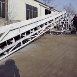 六九重工工地输送混凝土皮带输送机Lj8养殖厂饲料装卸输送机 dy800