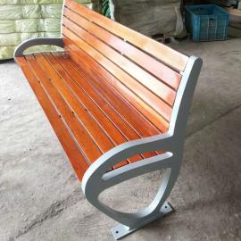 绿华户外休闲桌椅工厂 仪征户外木条椅子定制 街边长条凳制造公司lh-yz