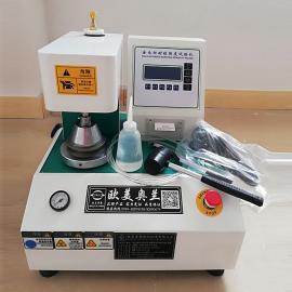 欧美奥兰 全自动耐破强度试验机 瓦楞纸板及其他片状板材耐破度的测定仪 OM-8600A