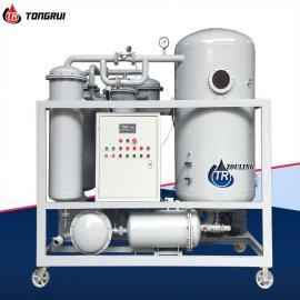 通瑞热电厂透平油专用加热型真空滤油机ZJC-200Z