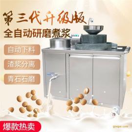 惠�x112型商用石磨豆�{�C一�w成型�C多少�X一�_