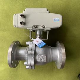 耐鼎调节型dian动球阀Q941Y-16C DN50 Q941H-25C DN80