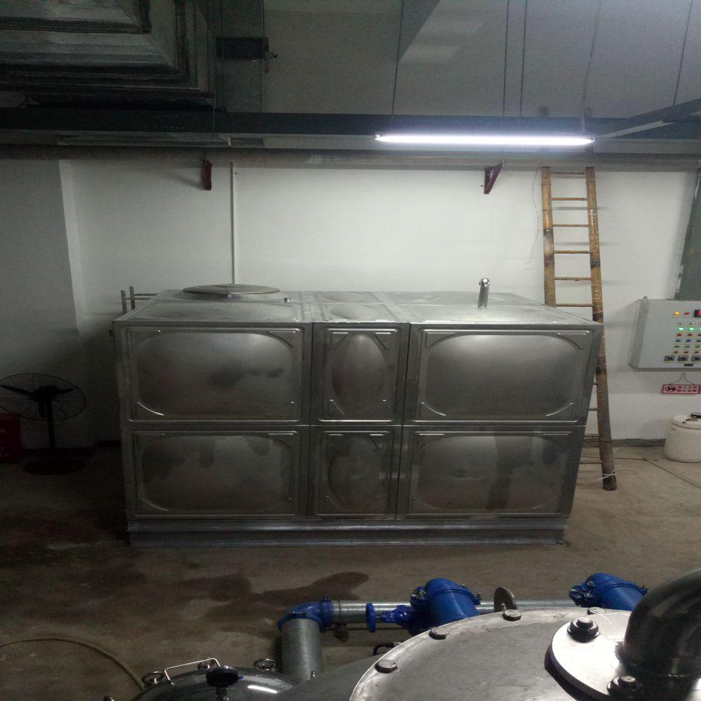 诚天益不锈钢方型水箱1-500立方
