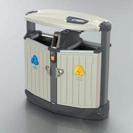 绿华lvhua苏*州木纹垃圾桶、苏*州木纹分类垃圾桶、DS-02A