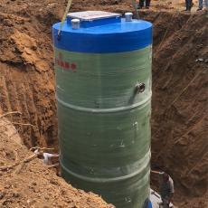3.8米地埋式一体化污水泵站安装规范