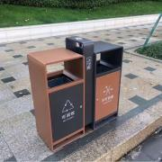 绿华lvhua景区垃圾箱厂商 街道不锈钢垃圾桶制品厂 环卫垃圾桶定制公司lh-01
