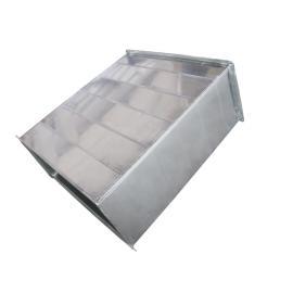 泳镪白铁皮共板风管加工各种规格