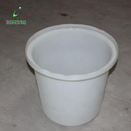500L塑胶圆桶泡椒桶腌菜圆桶叉车桶食品级白色塑胶桶