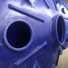 15吨盐酸储存罐 化工储罐 ju乙烯材质全新可定做