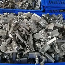 科隆牌标准bu锈钢卡子卡ban 螺shuan 螺母 垫片全套分布器lian接jian
