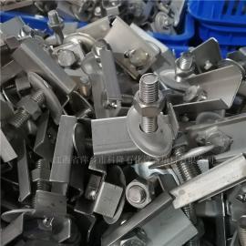 科隆牌bu锈钢卡子分布器lian接jian配M10*30螺shuan螺母