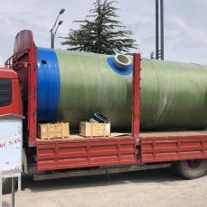 思源地埋一体化预制泵站分散污水SYPS-3000-5.5