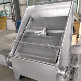 如克RKSF不锈钢干湿分离畜禽鸡牛猪粪便脱水机RKSF60
