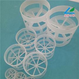 绿烨塑料鲍尔环喷淋塔填料 陶瓷鲍尔环填料