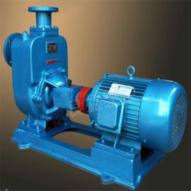 ZW自吸式无堵塞排污泵不锈钢卧式防爆自吸污水泵工业380V