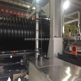 地埋排水钢带波纹管生产