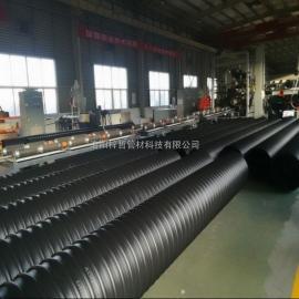 排水排污钢带波纹管生产团购