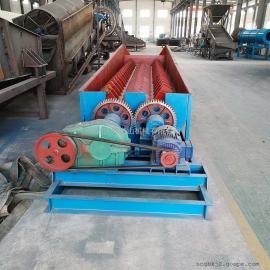 国邦2RXL750双轴槽式洗矿机 大型矿用螺旋洗石机 高效砂石污泥清洗机