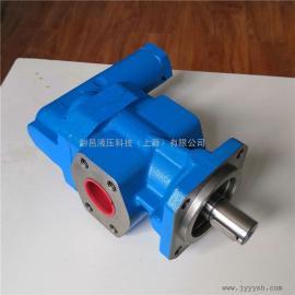 JIAN YI剑邑高粘度齿轮油泵 大流量润滑油泵 低压大流量液压油泵KRACHT-KF50RF2
