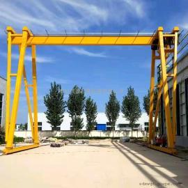 润德MH3吨轨道式龙门吊 电动有轨龙门架 轨道式起重机
