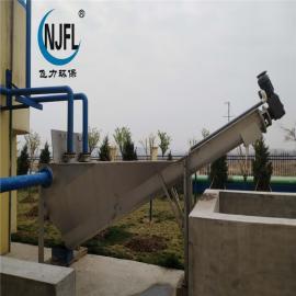 飞力环保螺旋式砂水分离器不锈钢分离效率高LSSF