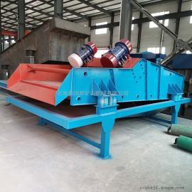 国邦TSS-1540高效泥沙细沙回收机 聚氨酯筛网振动脱水筛 尾矿脱水设备生产线