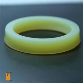 进口聚氨酯UHS型轴孔通用密封圈孔用活塞液压油缸活塞杆轴用气缸活塞密封圈