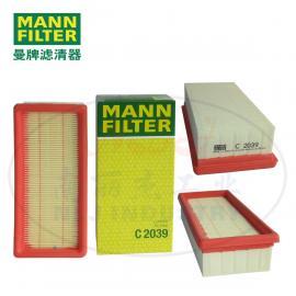 MANN-FILTER曼牌滤清器 空滤C2039
