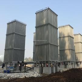 天然气汽化器煤改气设备大型空温式汽化器LNG气化调压计量撬气化器调压箱柜客户定做