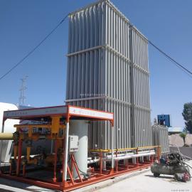 减压撬LNG加气站设备天然气撬装设备气化增压撬空温式汽化器低压2000立方