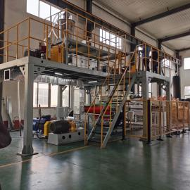 通佳熔喷布生产线 熔喷布生产工艺流程TJ-RPB1600MM