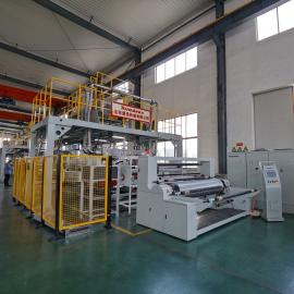 通佳1.6米幅宽熔喷布机器 医疗熔喷布生产线TJ-RPB1600MM
