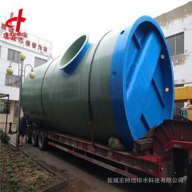 一体hua排水设备,玻璃gang一体hua排水beng站 3500mm*8800mm hongshuai给排水