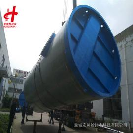 3.8米*16.8米�o人值守一�w化泵站 玻璃�一�w化提升泵站宏���o排水