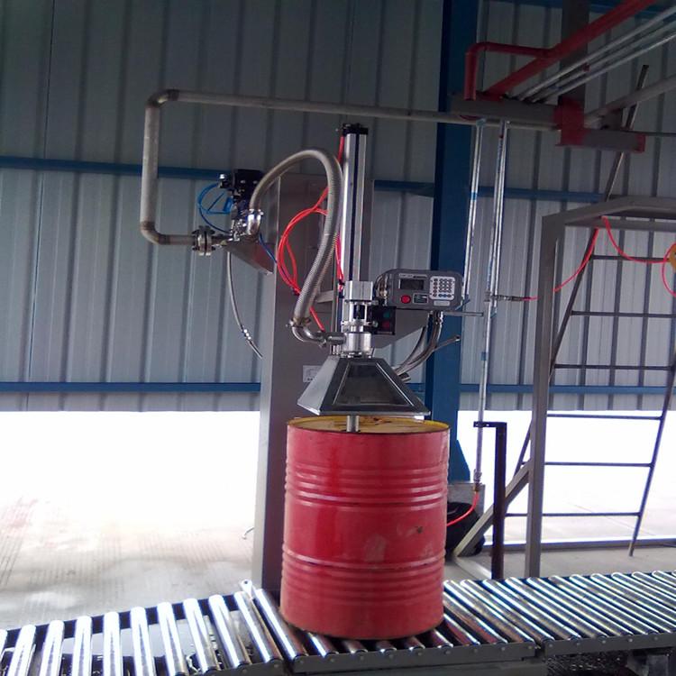 广志200L铁桶液面上灌装机,定量称重罐装机GZM