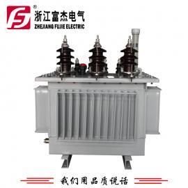 富杰S11-315KVA全铜线包 三相油浸式变压器 10KV级 Dyn11 可过载到500KVA