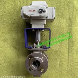 ZDRV电动V型调节球阀 VQ947V电动V型调节阀- VQ947H、VQ977H耐鼎
