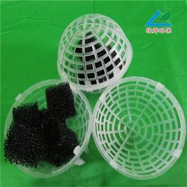 绿烨球型悬浮填料 悬浮球填料污水处理