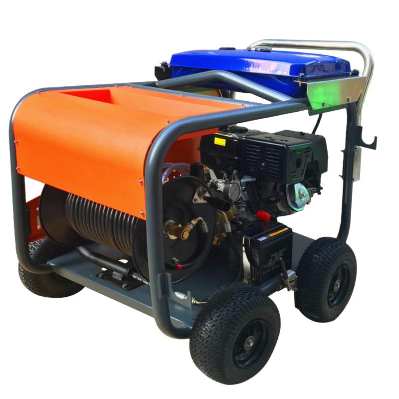 工厂排污管道油污疏通高压清洗机大流量CZ-200-41G