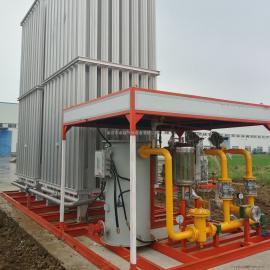 天燃气设备水浴式汽化器液氧液氮液氨气化器辅热器空温式汽化器客户定做